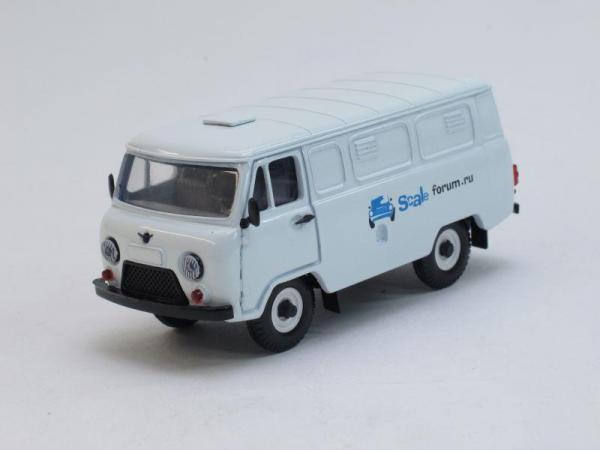 УАЗ-3741 Scaleforum.ru (Тантал) [1965г., Белый, 1:43]