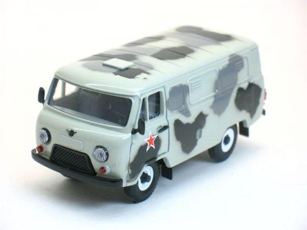 УАЗ-3741 (Тантал) [1965г., Зимний камуфляж, 1:43]