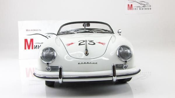 PORSCHE 356 SPEEDSTER #23F (Autoart) [1955г., Белый, 1:18]