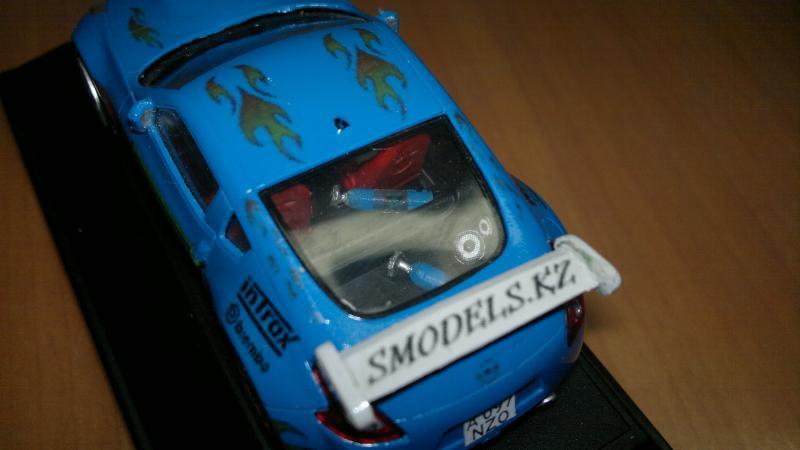 Конверсия Nissan 370Z от суперкаров 1:43