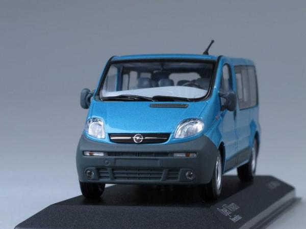 Opel Vivaro Break (Minichamps) [2001г., Морская волна, 1:43]