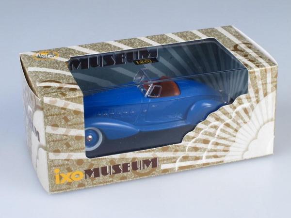 Packard Le Baron V12 Speedster (IXO) [1934г., Синий, 1:43]