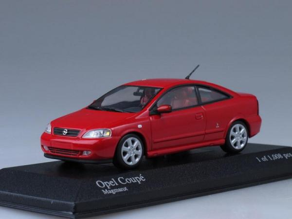 Opel Coupe (Minichamps) [2000г., Красный, 1:43]