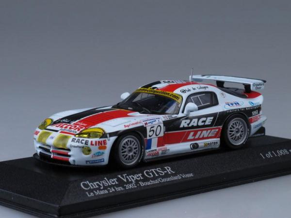 Chrysler Viper GTS-R (Minichamps) [2002г., Белый, 1:43]