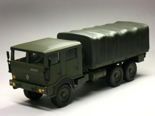 RENAULT TRM 10 000 military tгuck (Norev) [1984г., Хаки, 1:43]