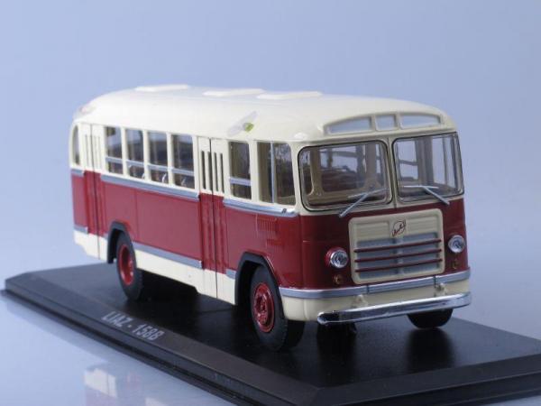 ЛиАЗ-158В (Classicbus) [1961г., бежево-бордовый, 1:43]