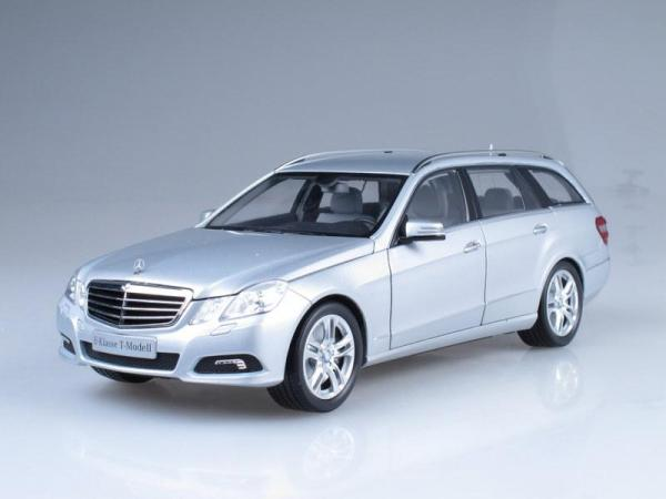Mercedes-Benz E-Class T-Model Avantgarde (Minichamps) [2009г., Серебристый металлик, 1:18]