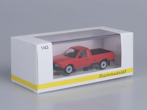 Москвич-2335 пикап (Prommodel43) [1994г., Красный, 1:43]