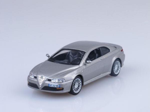 Alfa Romeo GT 3.2 V6 24V (DeAgostini (Суперкары мира)) [2004г., Серебристый металлик, 1:43]