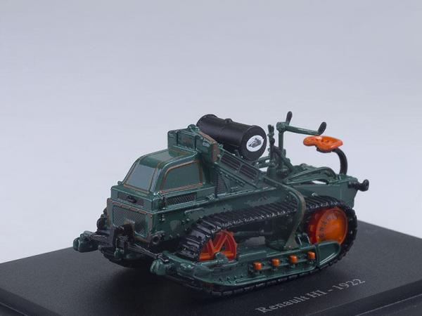 Renault HI (Altaya) [1922г., Темно-зеленый, 1:43]