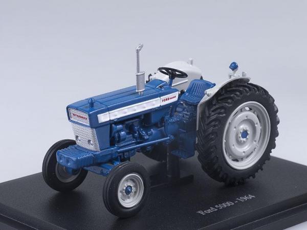 Ford 5000 (Altaya) [1964г., Синий с белым, 1:43]