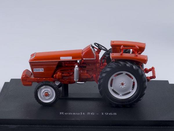 Renault 56 (Altaya) [1968г., Красный, 1:43]