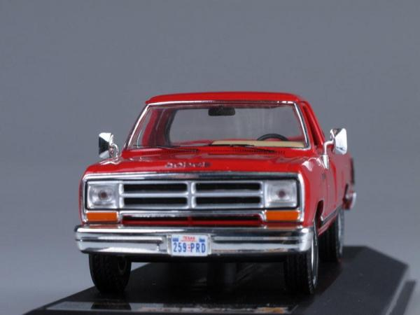 DODGE RAM Pick Up (Premium X) [1987г., Красный, 1:43]