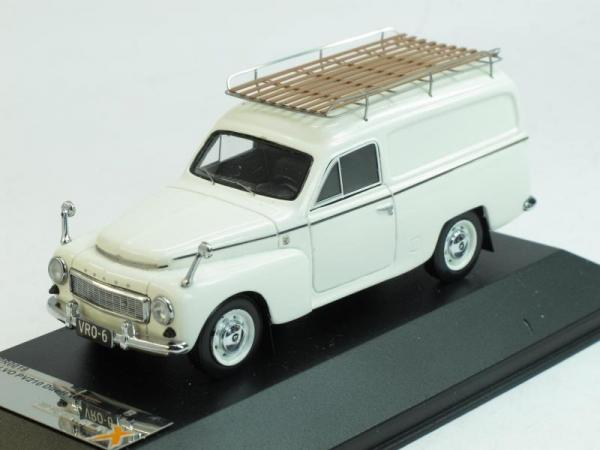 VOLVO P210 Duett Comercial Van (с багажником) (Premium X) [1962г., Кремовый, 1:43]