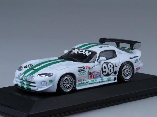 Dodge Viper GTS-R 24h Daytona (Minichamps) [1996г., Белый с зелеными полосами, 1:43]