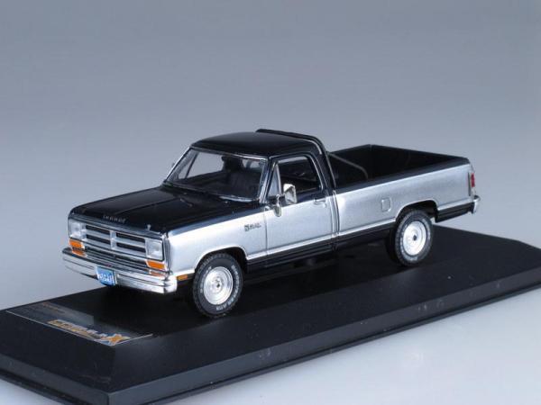 DODGE RAM Pick Up (Premium X) [1987г., Черный и серебристый металлик, 1:43]