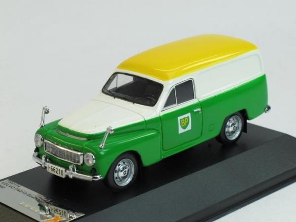 VOLVO P210 Duett Comercial Van (Premium X) [1962г., Зеленый, белый и желтый, 1:43]