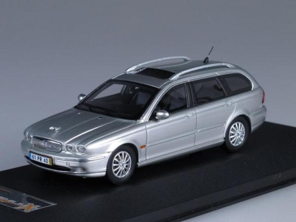 JAGUAR X-TYPE Wagon (Premium X) [2004г., Серебристый металлик, 1:43]