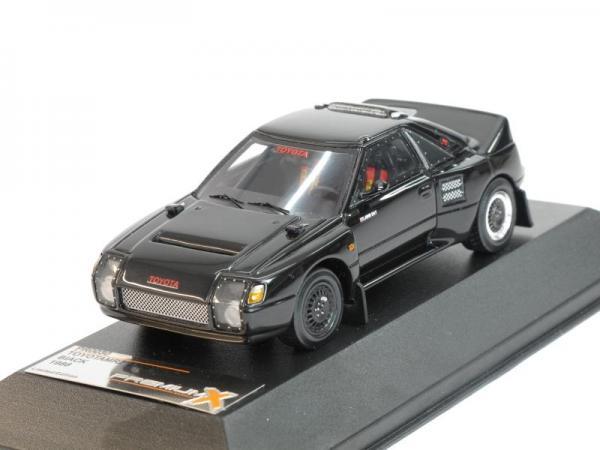 TOYOTA MR2 Gr.B (Premium X) [1986г., Черный, 1:43]