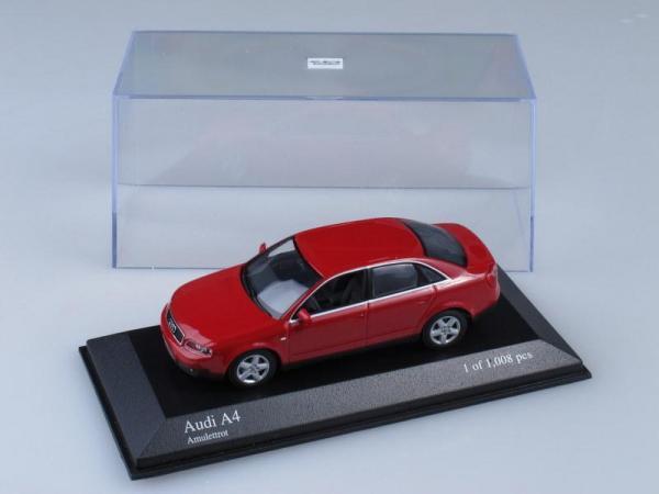 Audi A4 (Minichamps) [2000г., Красный, 1:43]