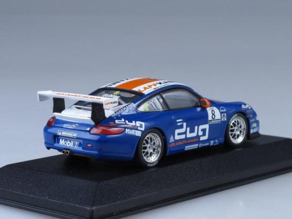 Porsche 911 GT3 Cup Supercup (Minichamps) [2006г., Синий, 1:43]