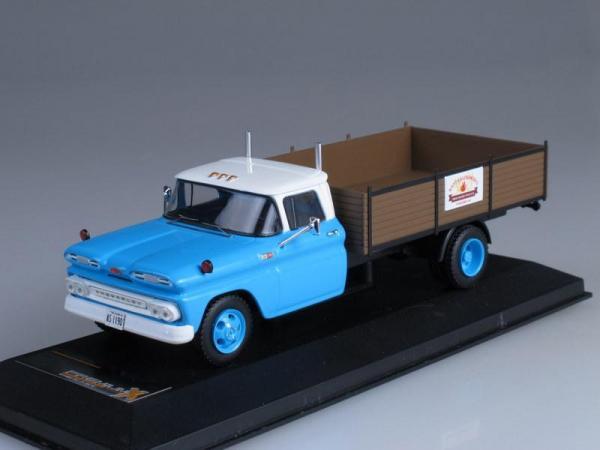 CHEVROLET C30 Truck (Premium X) [1961г., Светло-голубой, 1:43]