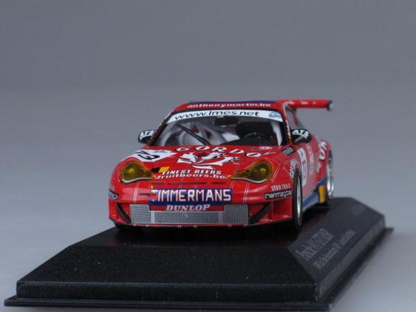"Porsche 911 GT3 RSR ""Gordon-Team"" Lambert/Lefort/Palttala 100 km Spa (Minichamps) [2005г., Красный, 1:43]"