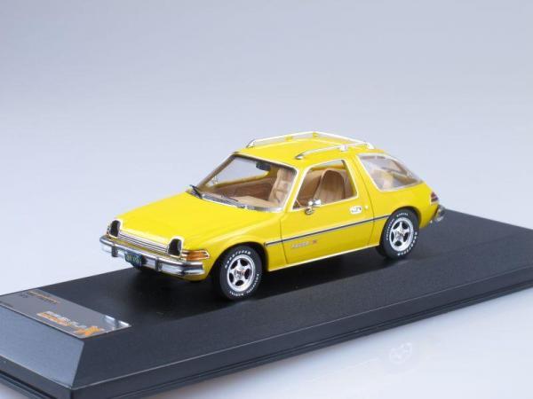 AMC PACER X (Premium X) [1975г., Желтый, 1:43]