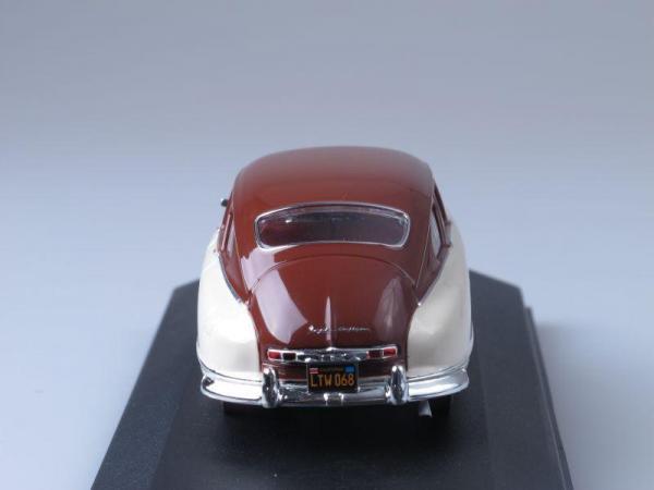 NASH AMBASSADOR (Premium X) [1950г., Бежевый и вишневый, 1:43]