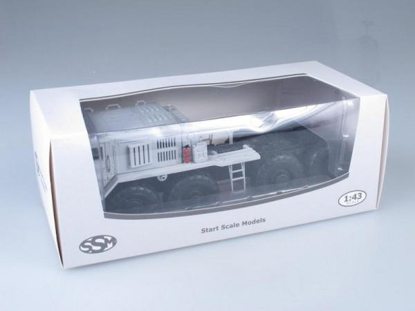 МАЗ-537 седельный тягач МЧС (Start Scale Models (SSM)) [1959г., Белый, 1:43]