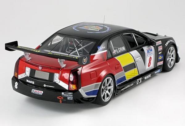 Cadillac CTS-V No.8, Pilgrim SCCA World Challenge 2005 (Autoart) [2005г., Черный, 1:18]