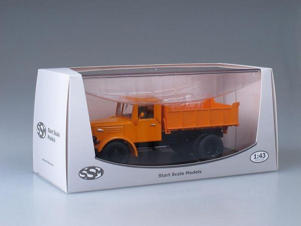 МАЗ-205 самосвал (Start Scale Models (SSM)) [1947г., Оранжевый, 1:43]