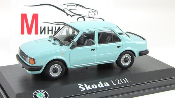 Skoda 120L (Abrex) [1984г., Голубой, 1:43]
