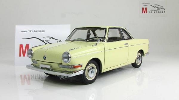 BMW 700 SPORT COUPE (Autoart) [1960г., бежевый, 1:18]