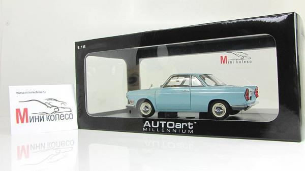 BMW 700 SPORT COUPE (Autoart) [1960г., Голубой, 1:18]