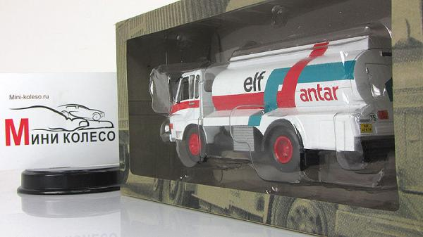Berliet 770 Elf (Atlas/IXO) [1976г., Белый, 1:43]