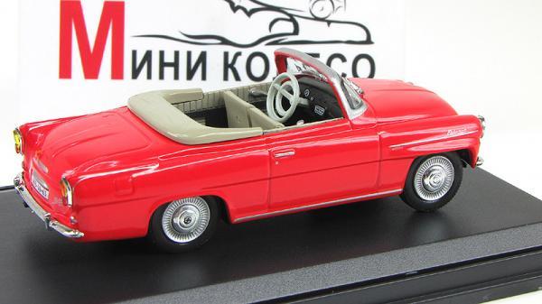 Skoda Felicia Roadster (Abrex) [1964г., Красный, 1:43]