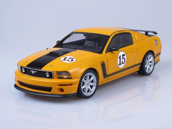 Ford Mustang Parnelli Jones Saleen Mustang #15 (Autoart) [2005г., Желтый, 1:18]