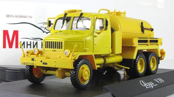 Прага V3S цистерна (Abrex) [1953г., Желтый, 1:43]