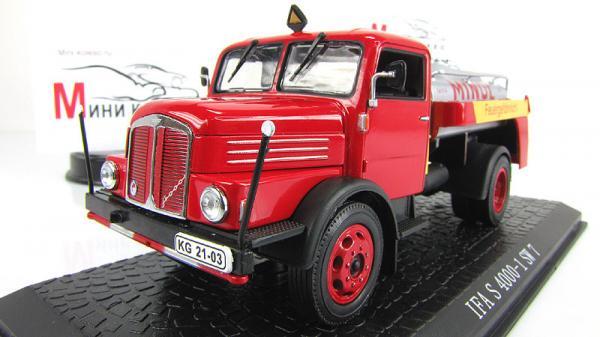 fa S 4000-1 SW 7 (Atlas/IXO) [1957г., красный/серебристый, 1:43]
