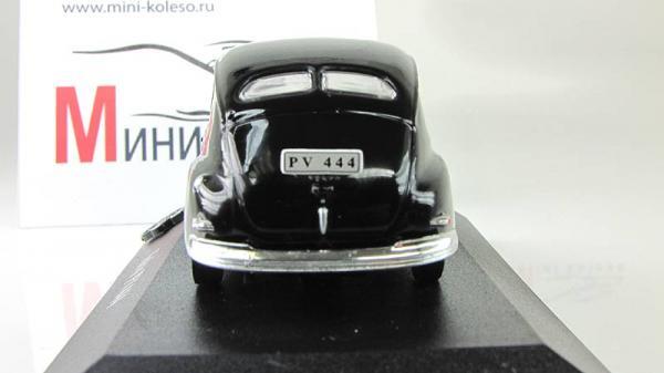 VOLVO PV444 (Atlas/IXO) [1943г., Черный, 1:43]