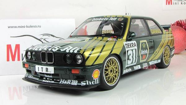 BMW M3 DTM (Autoart) [1991г., Зеленый, 1:18]