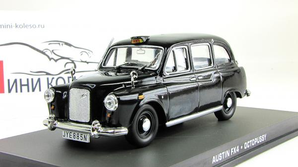 Austin FX4 London Taxi - James Bond 007Austin FX4 London Taxi - James Bond 007 «Octopussy» (Atlas/IXO) [1970г., Черный, 1:43]