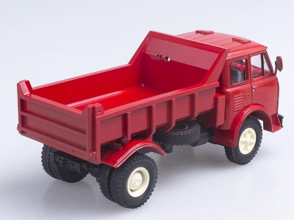 МАЗ-503А самосвал (Наш Автопром) [1970г., Красный, 1:43]