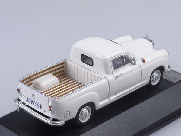 Mercedes-Benz 180D Bakkie (Premium X) [1956г., Белый, 1:43]