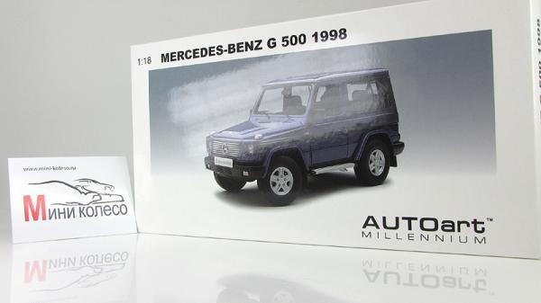 MERCEDES-BENZ G-MODEL 90 (Autoart) [1998г., Синий, 1:18]