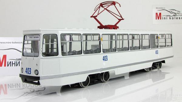 "КТМ 5 ""Николаев"" (Vector-Models) [1968г., Белый, 1:43]"