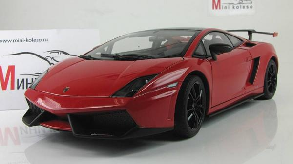 Lamborghini Gallardo lp570 supertrofeo stradale (Autoart) [2010г., Красный, 1:18]