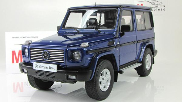 MERCEDES-BENZ G-MODEL 90 (Autoart) [1998г., Синий, 1:18]