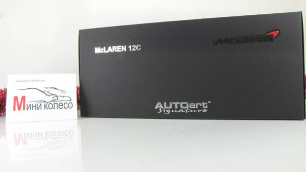 MCLAREN MP4-12C (Autoart) [2011г., Красный, 1:18]